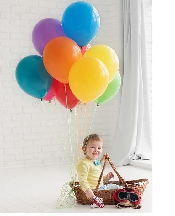 Фотосессия с шарами - идеи для проведения фотосессии с 10