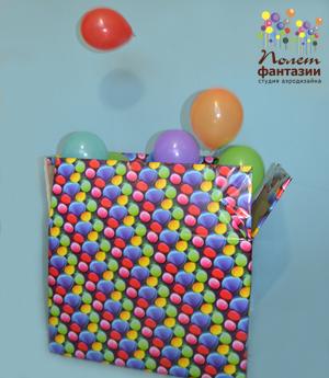 Доставка-сюрприз с воздушными шарами
